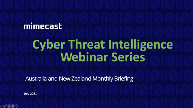 Ep 7 - Australia and NZ Cyber Threat Intelligence Briefings