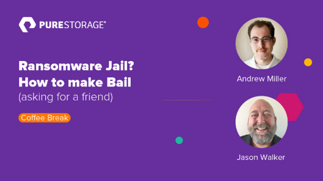Coffee Break: Ransomware Jail? How to make Bail (asking for a friend)
