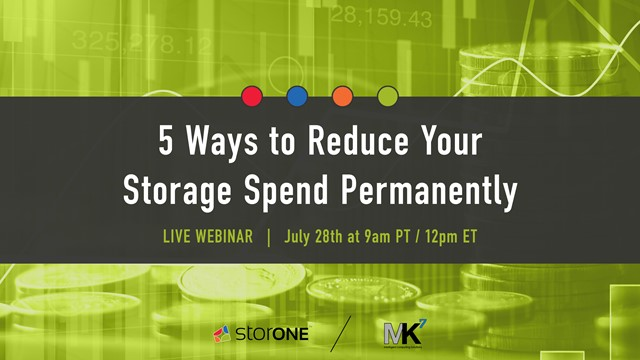5 Ways to Reduce Your Storage Spend Permanently