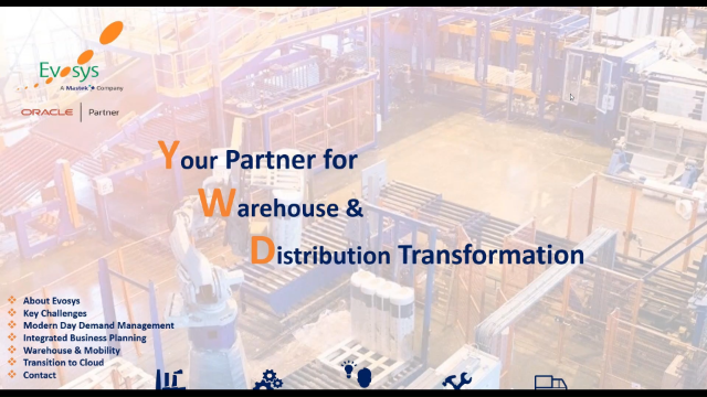 Oracle Cloud Adoption for the Wholesale & Distribution Industry