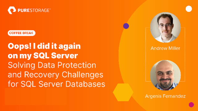 Solving Data Protection and Recovery Challenges for SQL Server Databases