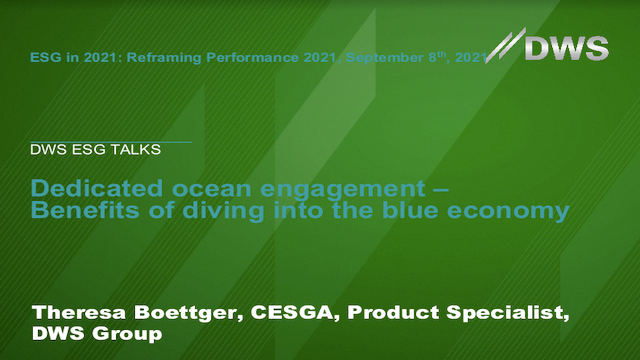 Dedicated ocean engagement – Benefits of diving into the blue economy