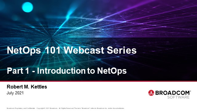 NetOps 101: Part 1 - Introduction to NetOps