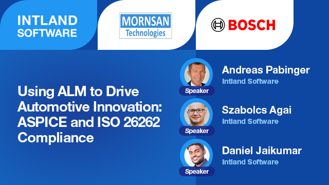 Using ALM for Driving Automotive Innovation: ASPICE and ISO 26262 Compliance