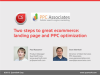 Two facets of a great ecommerce site: PPC and landing page best practices.