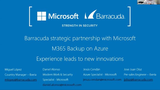 Office 365 Backup on Azure - Experience leads to new innovations [Spanish]