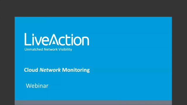 Expand Network Visibility into Your Public Cloud Environments Operations