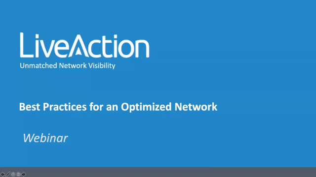 Best Practices for an Optimized Network