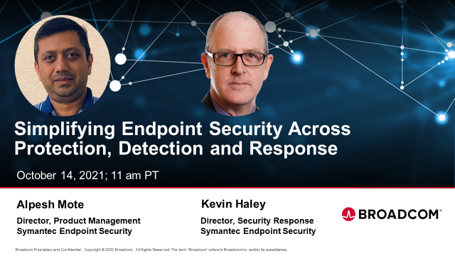 Simplifying Endpoint Security across Protection, Detection and Response
