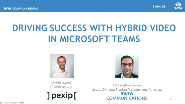 Driving Success with Hybrid Video in Microsoft Teams