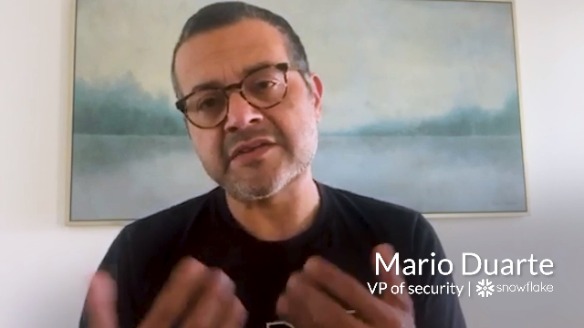 SaaS Security with Obsidian - Mario Duarte, VP of Security, Snowflake