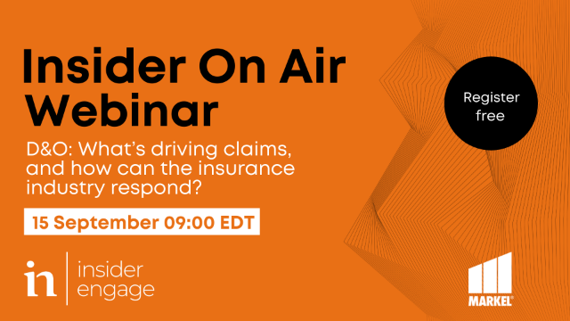 D&O: What's driving claims, and how can the insurance industry respond?