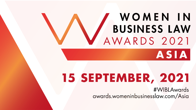 Women In Business Law Awards 2021 Asia
