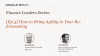 [Ep.3] Finance Leaders Series: How to Bring Agility to Your Re-forecasting