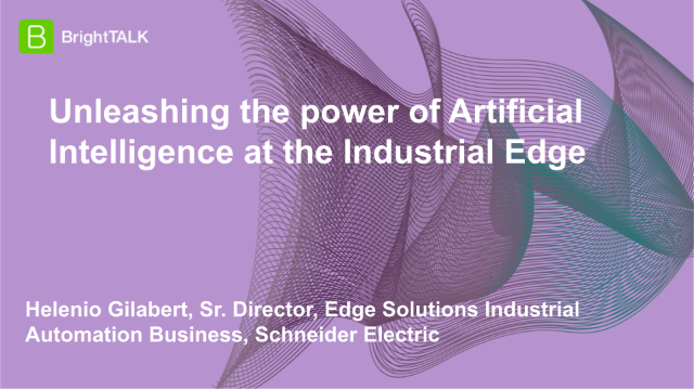 Unleashing the power of Artificial Intelligence at the Industrial Edge