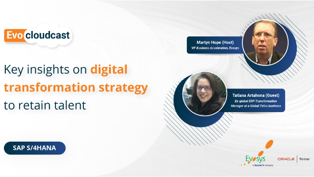 Episode 3 | Key insights on digital transformation strategy to retain talent