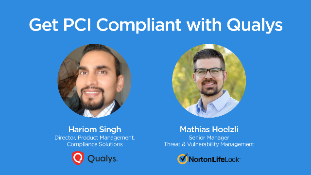 Get PCI Compliant with Qualys