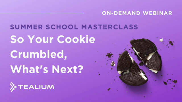 So Your Cookie Crumbled, What's Next?