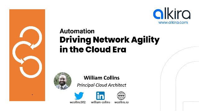 Automation: Driving Agile Networks In The Cloud Era