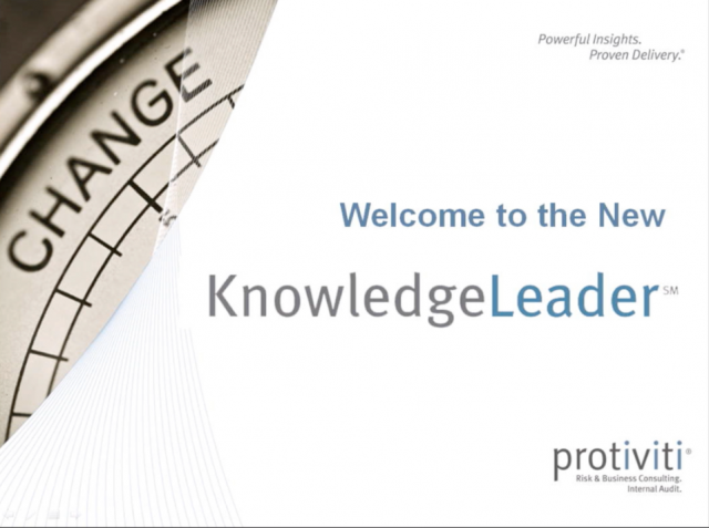 Come See the New KnowledgeLeader!