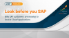 Look Before you SAP   Why SAP customers are moving to Oracle Cloud Applications
