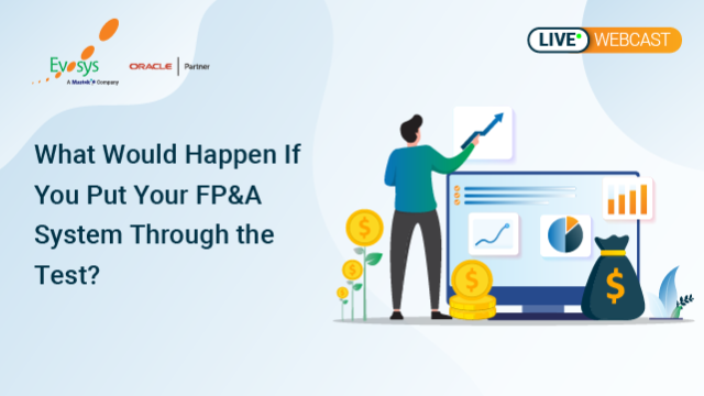 Enhance your FP&A (Financial Planning & Analysis) with Oracle EPM Cloud.