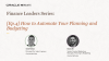 [Ep.4] Finance Leaders Series: How to Automate Your Planning and Budgeting
