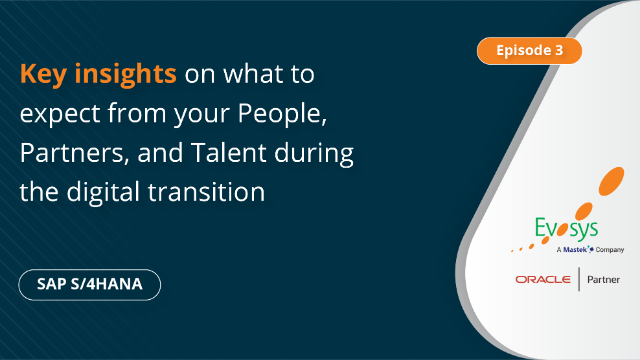 Ep 3 -Key Insights on People, Partners, and Talent during the Digital Transition