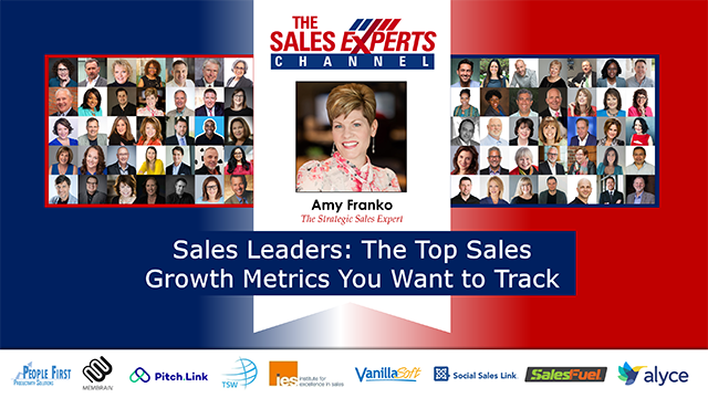 Sales Leaders: The Top Sales Growth Metrics You Want to Track