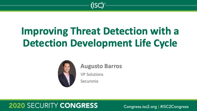 Improving Threat Detection With a Detection Development Life Cycle