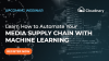 Automate Your Media Supply Chain with Machine Learning