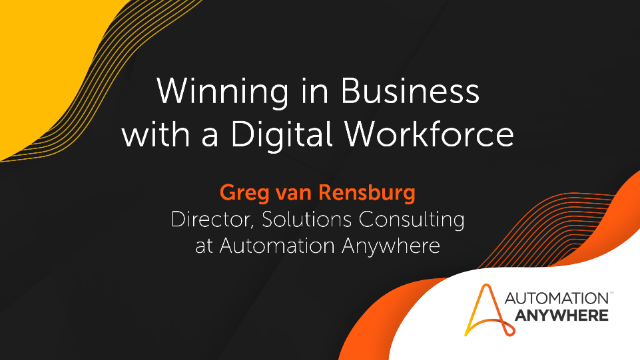 Winning in Business with a Digital Workforce