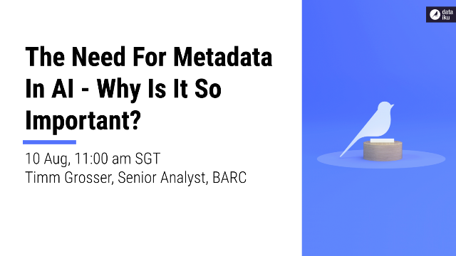 The Need for Metadata in AI – Why is it so important?