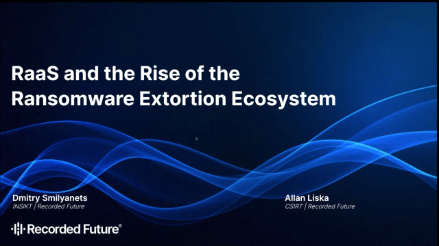 RaaS and the Rise of the Ransomware Extortion Ecosystem