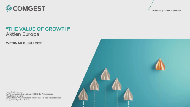 Webinar The Value of Growth Europa July 2021