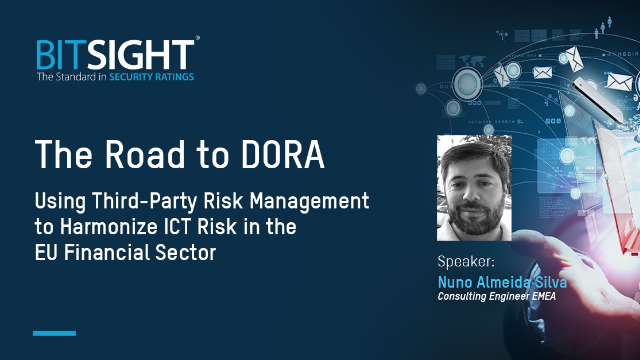 The Road to DORA - Harmonize ICT Risk in the EU Financial Sector