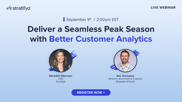 Deliver a Seamless Peak Season with Better Customer Analytics