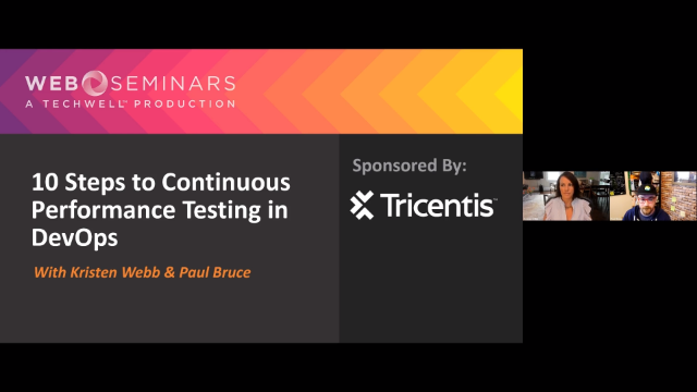 10 steps to continuous performance testing in DevOps