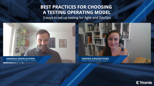 Best practices for choosing a testing operating model