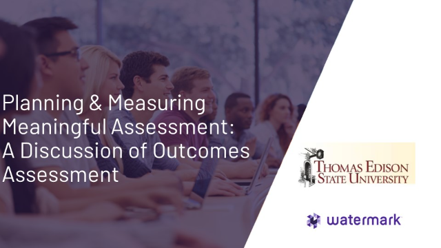 Addressing Assessment Challenges with Thomas Edison State University
