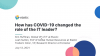 How has COVID-19 changed the role of the IT Leader?
