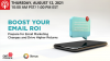 Boost Your Email ROI