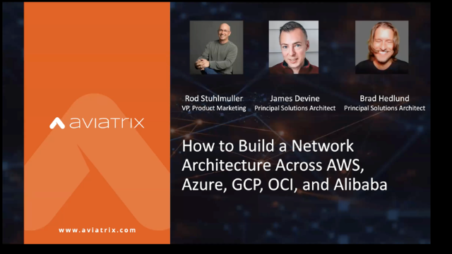 How to Build a Network Architecture Across AWS, Azure, GCP, OCI, and more (EMEA)