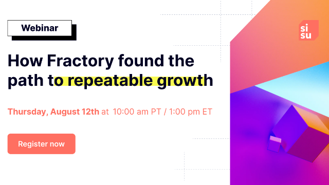 How Fractory found the path to repeatable growth