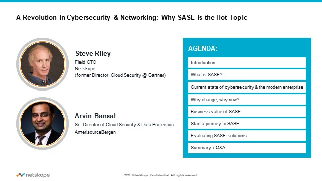 A Revolution in Cybersecurity & Networking:  Why SASE is the Hot Topic