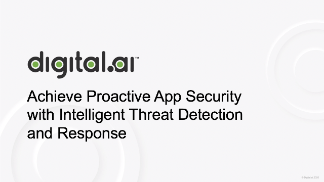 Achieve Proactive App Security with Intelligent Threat Detection and Response