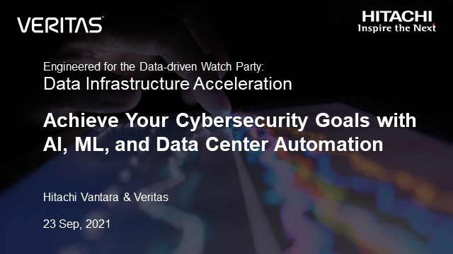 Achieve Your Cybersecurity Goals with AI, ML, and Data Center Automation
