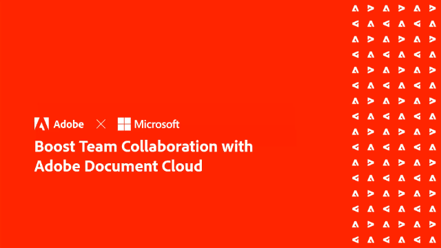 Boost Team Collaboration with Adobe Document Cloud
