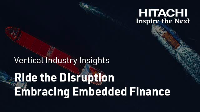 Ride the Disruption Embracing Embedded Finance