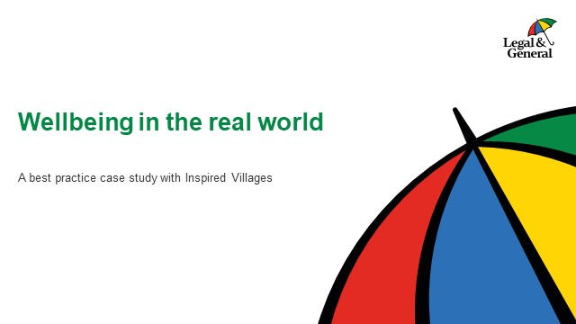 Wellbeing in the real world - best practice case study with Inspired Villages